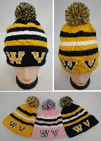 Knitted Toboggan with PomPom [WV]